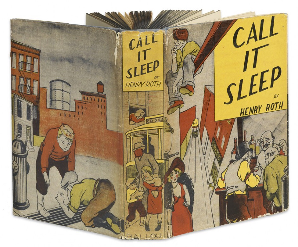 Dust jacket for Call It Sleep published by Ballou, 1934