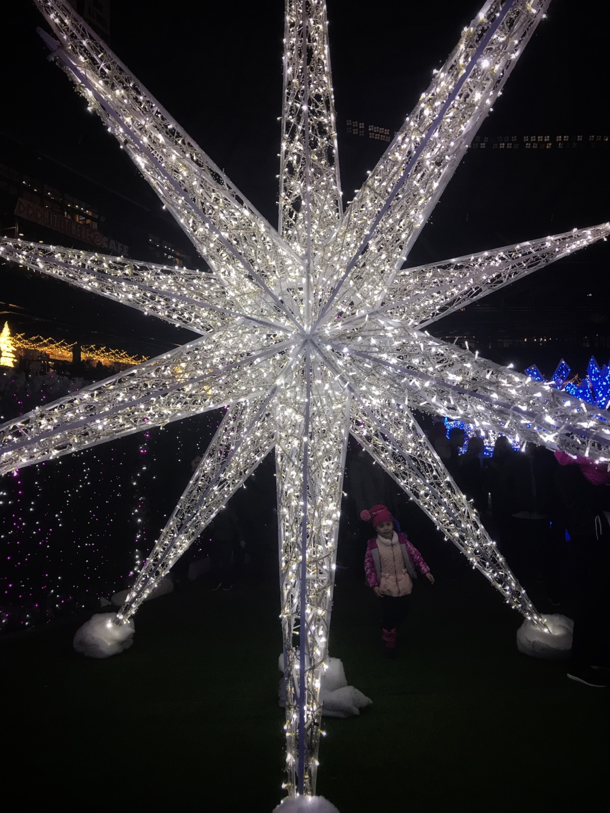Snapshots from Enchant Christmas at Safeco Field