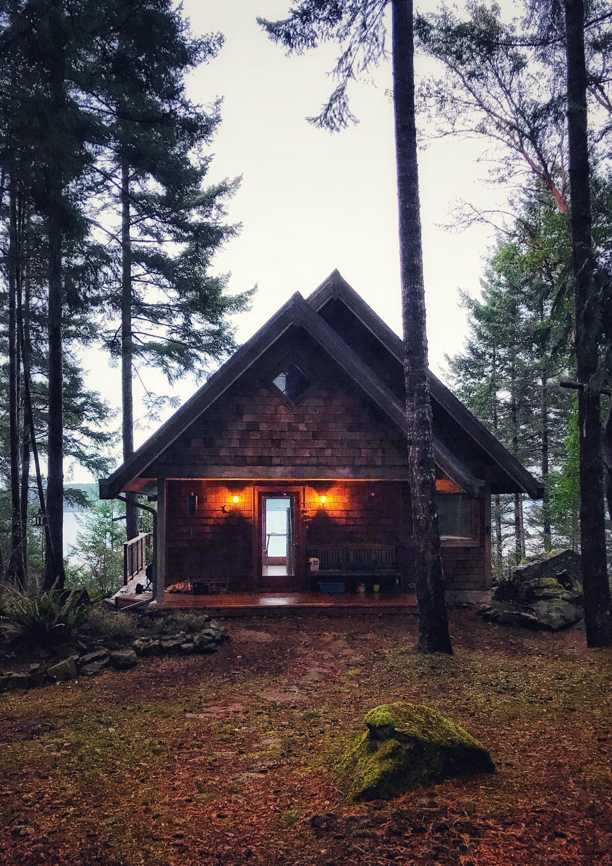 Cabin on Pender Island
