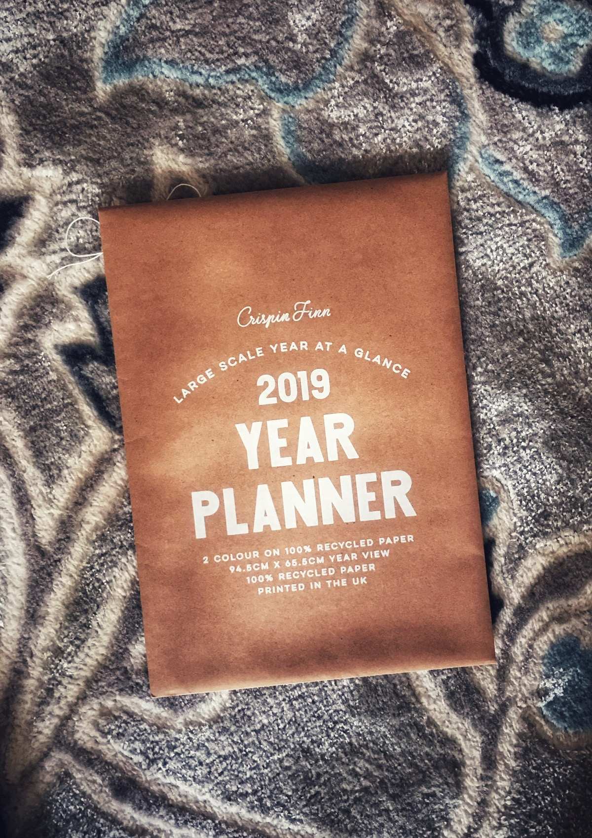 Envelope of Crispin Finn year planner