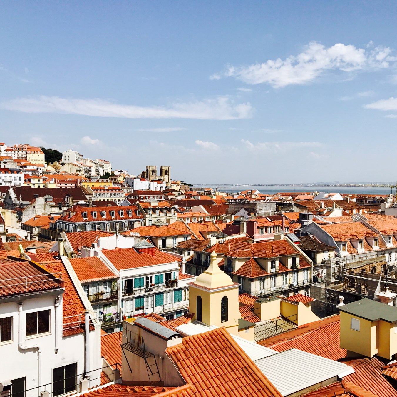 Look over Alfama