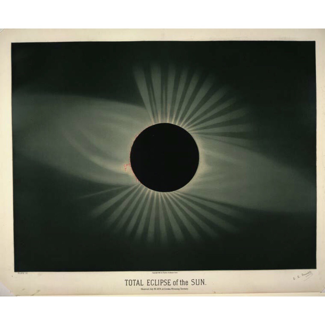 Total eclipse of the sun in 1878