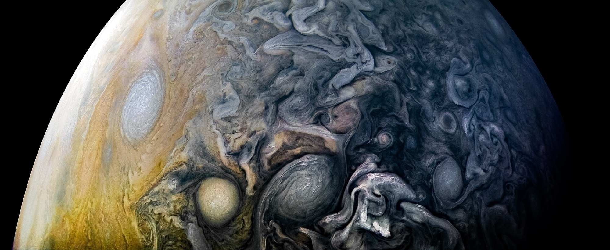 Intricate Clouds of Jupiter