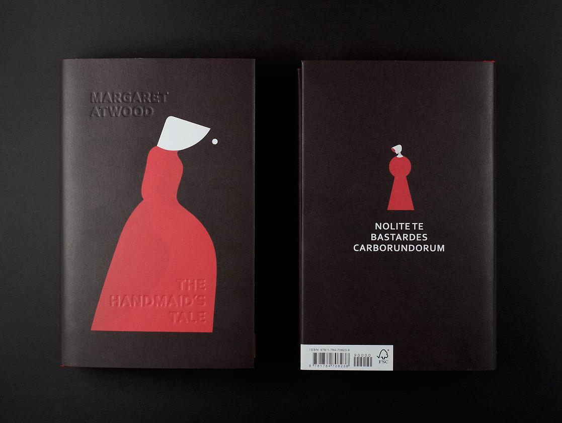 UK Cover for The Handmaid's Tale.