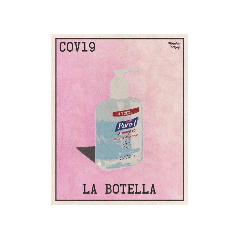 COVID loteria card