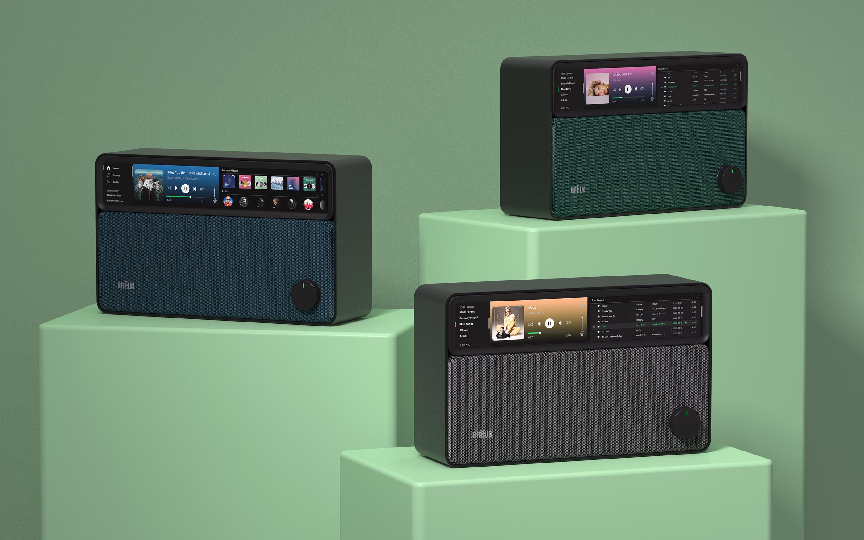 Braun Spotify Radio Concept