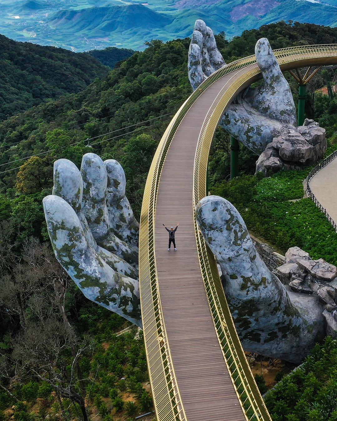 Golden Bridge by Tran Tuan Viet